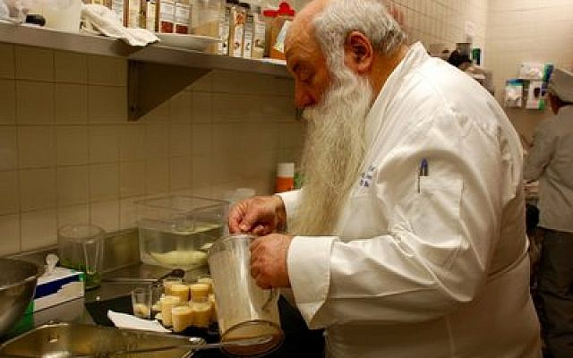 Chef Uri Jeremias from Israel works with culinary arts students at Manchester Bidwell Corporation.  Photo provided by Manchester Bidwell Corporation