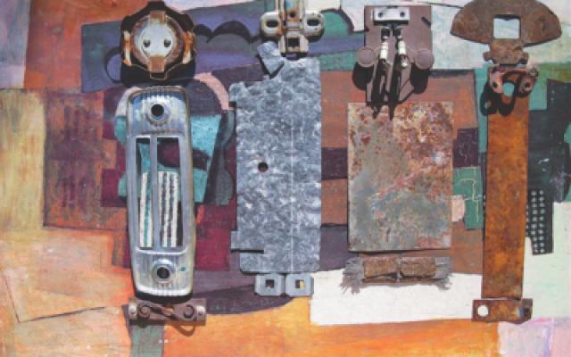 A piece Telma Schultz made from disposed materials  Photos courtesy of Telma Schultz