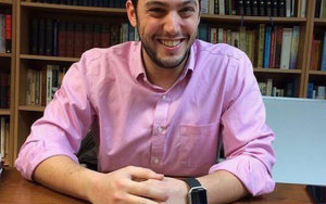 Rabbi Jeremy Markiz Photo by Toby Tabachnick