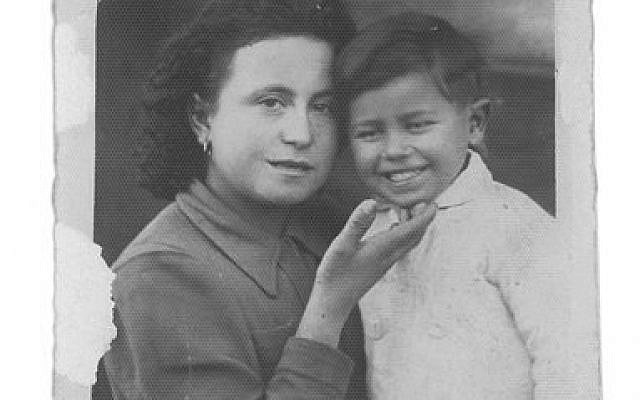 The photo of a mother and her young son, with its inscription on the back, has been a source of wonderment for Carmela Turi.  Photo courtesy of Camela Turi