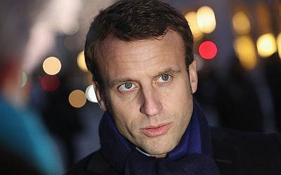 French independent presidential candidate Emmanuel Macron  Photo by Sean Gallup/Getty Images