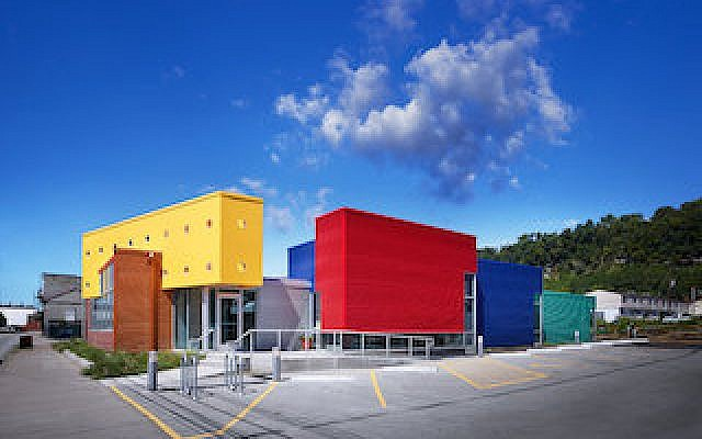 Sharpsburg Community Library Photo provided by Front Studio Architects