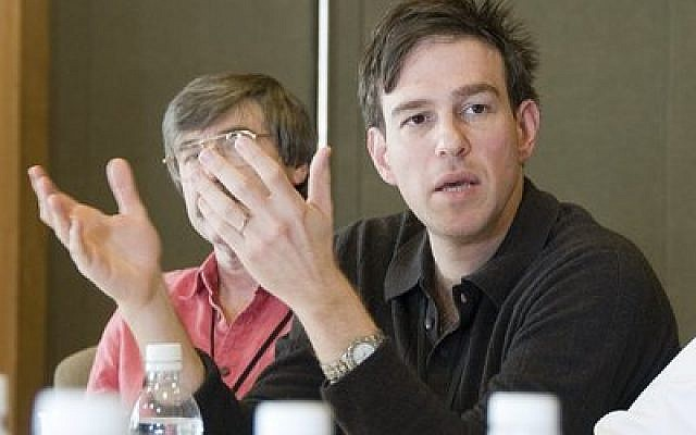 Bret Stephens, pictured in 2008, is a former editor of The Jerusalem Post.  Photo courtesy of Flickr Commons