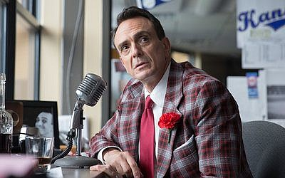 "Hank Azaria plays a baseball announcer in the IFC series ""Brockmire.""  Photo by Erica Doss/IFC"