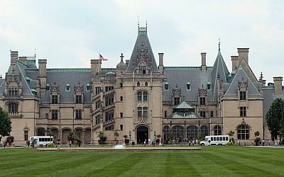 The beautiful Biltmore Estate in Asheville	(Photo by Jeff Orenstein)
