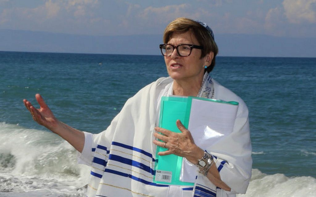 Rabbi Barbara Aiello, formerly of Pittsburgh, converts students from all over the world, studying with them online. (Photos courtesy of Rabbi Barbara Aiello)