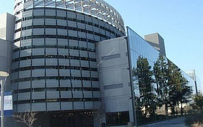 The Henry Madden Library at California State University, Fresno. 	(Photo courtesy of Wikimedia Commons)