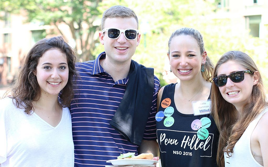 Participants in the Jewish Renaissance Project, an initiative of Penn Hillel, are reinvigorating Jewish life on campus for scores of young Jews.	(Photo provided by Penn Hillel)