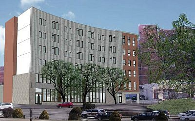 An architect's rendering of Krause Commons, which will occupy the former Poli's site at 2607 Murray Ave.  Photo is courtesy of ACTION-Housing