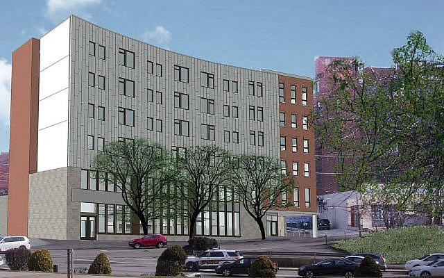 An architect's rendering of Krause Commons, which will occupy the former Poli's site at 2607 Murray Ave. (Photo courtesy of ACTION-Housing)