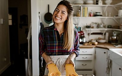 Molly Yeh has taken the food blogging world by storm with her bubbly personality and creative recipes. 	   Photo by Chantell Quernemoen