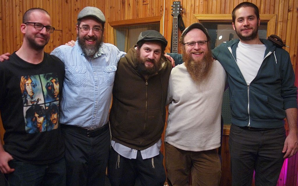 Members of Chillent chill out during a recording session (Photo courtesy of Chillent)