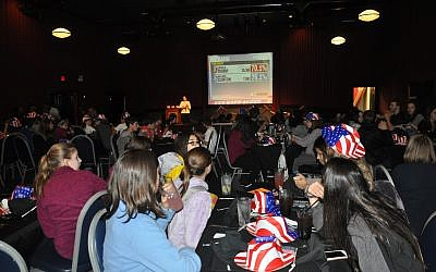 A photo from last year's Voice Your Vote program at Dave & Buster's. This year's J-Fest on Darlington seeks to build on the momentum generated by last year's teen collaboration.	    Photo by Adam Reinherz