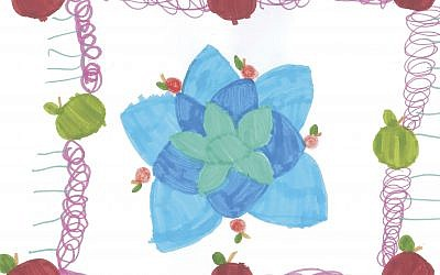 SHANAH TOVAH! — The Chronicle's annual holiday art contest produced this winning entry.	   Art By Bella Reinherz, age 6