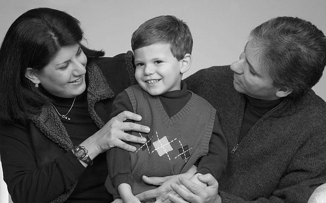 Bonnie, Brandon and Saul Markowitz.    Photo by Stephen Gross-Photographic Communications