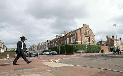Gateshead is home to 8,000 haredi Jews. (Photos by Cnaan Liphshiz)