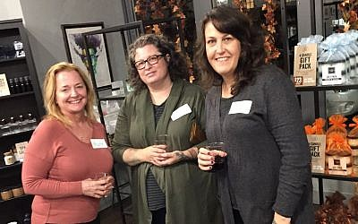 From left: Marta Fox, Sarah Fetter and Karen Oosterhous. (Photo courtesy of Friendship Circle)
