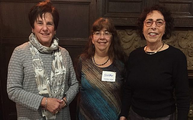 From left: Barb Siegel, chairperson; Susan Cohen; and Cecilia Rothschild. Committee members not pictured are Esther Nathanson, Fran Caplan and Hanita Kossowsky.