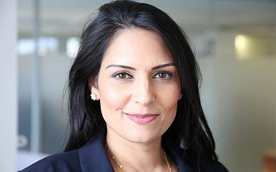 Priti Patel met with Prime Minister Benjamin Netanyahu while on a private family vacation in Israel. (Photo courtesy of Creative Commons/Russell Watkins/ Department for International Development)