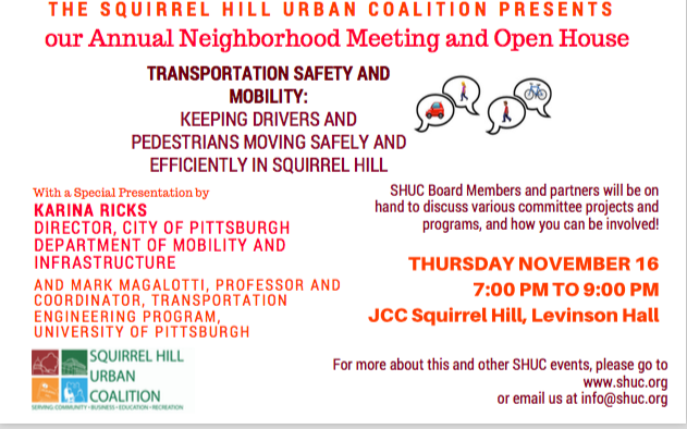 (Ad from the Squirrel Hill Urban Coalition)