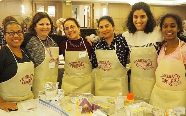 From left: Sharon Jackson, Dana Himmel, Esther Elishaev, Gabriella Lynch, Gabriella Boyiadzis and Chloe John. (Photos courtesy of Chabad of Pittsburgh)