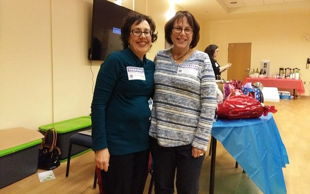 Event chairs Shelly Seigel, left, and Debra Moidel. (Photo courtesy of South Hills Jewish Pittsburgh)