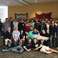 Members of the University of Pittsburgh's AEPi. (Photo courtesy of Jonathan M. Pierce, APR, president, Pierce Communications)