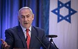 Israel's Prime Minister Benjamin Netanyahu spoke at the Munich Security Conference Sunday. (Photo from public domain)