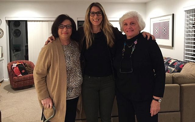 From left: Judy Goldman, Rachel Blaufeld and Judy Palkovitz. (Photo provided by Israel Bonds/Development Corporation)