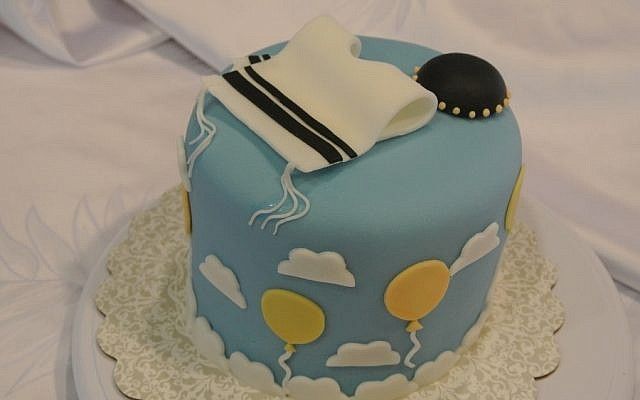 An Upshernish cake by Yamit Presman. (Photo courtesy Yamit Presman)