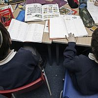 Of the 1,004 Jewish day schools in the United States, 731 are Orthodox. (Photo by Christopher Furlong / Getty Images)