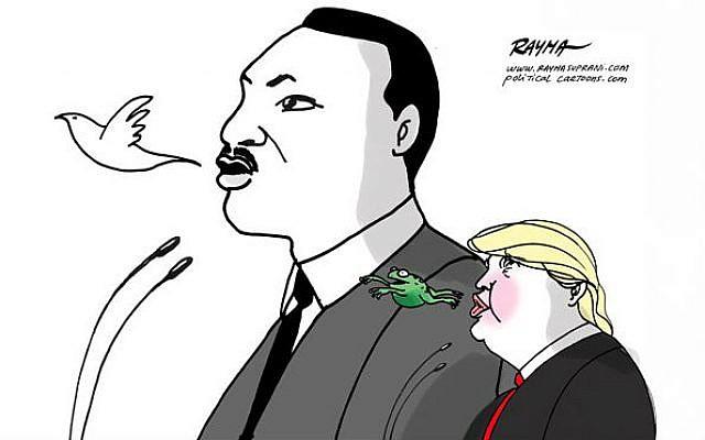 Martin Luther King Day  Rayma Suprani, CagleCartoons.com