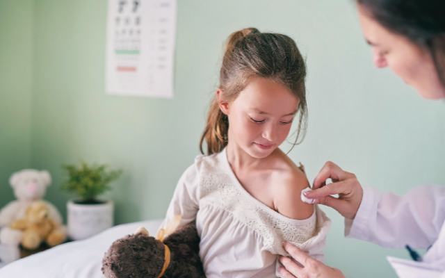 The safety and effectiveness of childhood vaccines is supported by the Centers for Disease Control and Prevention and the American Academy of Pediatrics. (Photo from public domain)