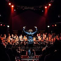 Bob Dylan's music is performed by the Mendelssohn Choir of Pittsbugh at Mr. Smalls. (Photo by Alisa Garin Photography)