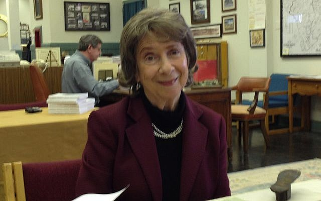 Mollee Kruger, 88, wrote a weekly column of Jewish verse from 1967 to 1983. (Photo courtesy of Joe Kruger)
