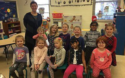 (Photo courtesy of Jewish East Suburban Preschool)