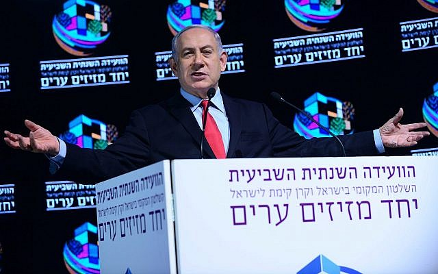 Police are recommending charges of bribery and breach of trust against Israeli Prime Minister Benjamin Netanyahu. (Photo by Tomer Neuberg/Flash90)
