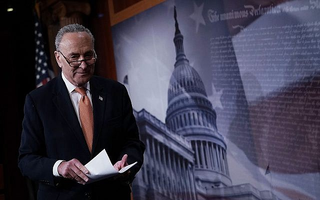 Senate Minority Leader Chuck Schumer. (Photo by Alex Wong/Getty Images)