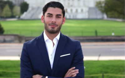 Ammar Campa-Najjar, a Palestinian American, won the Democratic endorsement for a California district.(Screenshot from YouTube)