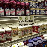 A selection of kosher for Passover horseradish spreads at Murray Avenue Kosher. Photo by Adam Reinherz
