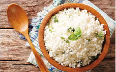 Cauliflower rice. (File photo)