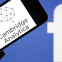 Cambridge Analytica is accused of collecting the personal information of 50 million users of the Facebook social network without their consent. (Photo by Chesnot/Getty Images)