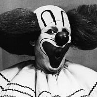 Frank Avruch as Bozo the Clown, circa 1965. (Photo from Hulton Archive/Getty Images)