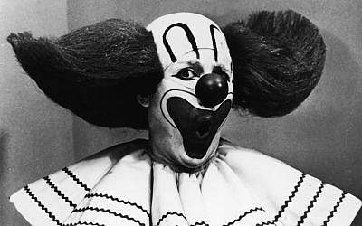 The pittsburgh jewish chronicle news and views from the jewish frank avruch as bozo the clown circa 1965 photo from hulton archive fandeluxe Gallery