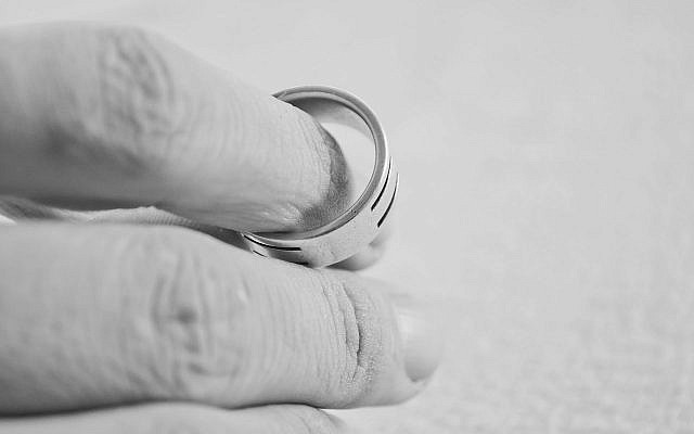 In Orthodox Judaism, a marriage cannot be undone unless the man consents to a get — the Hebrew word for divorce. (Photo from public domain)