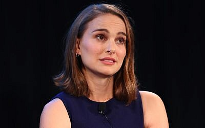 Natalie Portman speaking at the Vulture Festival LA in Hollywood, Calif., Nov. 19, 2017. (Photo by Joe Scarnici/Getty Images for Vulture Festival)