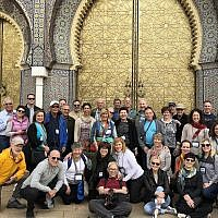 A group from the Jewish Federation of Greater Pittsburgh's recent trip to Morocco. (Photo courtesy of Ellen Teri Kaplan Goldstein)