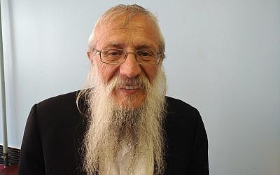 Rabbi Josef Mendelevich was involved in the 1970 attempted aircraft hijacking to escape the former Soviet Union and travel to Israel. (Photo by Adam Reinherz)