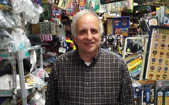 Marc Haber, owner of Murray Avenue Newsstand, is ready to close up shop. (Photo by Adam Reinherz)