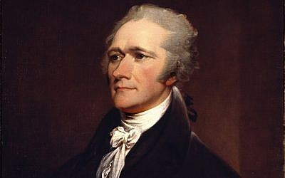"Founding Father Alexander Hamilton, the first Secretary of the Treasury and chief author of ""The Federalist Papers,"" is often portrayed as an outsider. (Photo from Wikimedia Commons)"